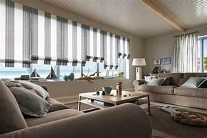 Gardinen Große Fensterfront : raffrollos f r fenster dachschr gen gardinenwerkstatt ~ Michelbontemps.com Haus und Dekorationen