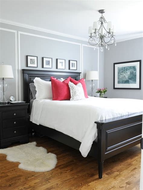 black  white bedroom houzz