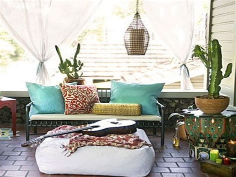 7 Seriously Stunning Outdoor Boho Areas