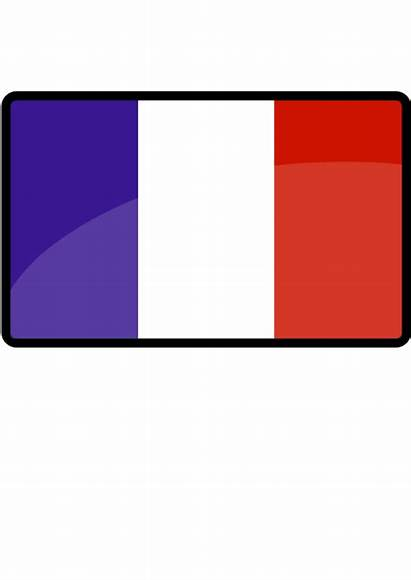 Flag French Vector Clipart Clip Transparent France