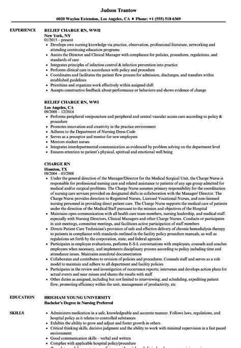 Resume Charges by Charge Resume Sle Eezeecommerce