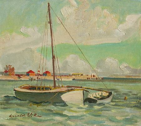 Swan River Boats For Sale by Paintings Harald Hansen Gallis Vike Page 14
