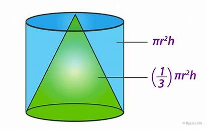 Cone Volume Derivation Byjus Formula Container Conical