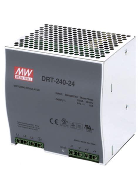 DRT-480-24 - Mean Well - DRT48024 - datasheet