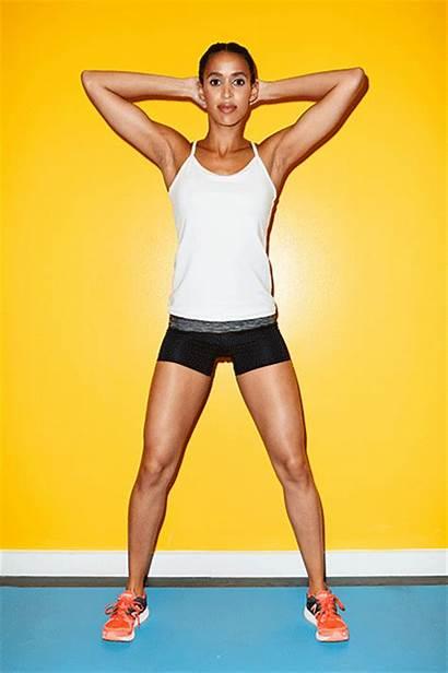 Squat Challenge Transform Squats Behind Head Hands