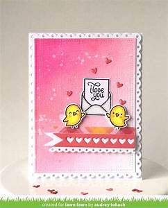 Lawn fawn love letters clear stamps hallmark scrapbook for Lawn fawn love letters