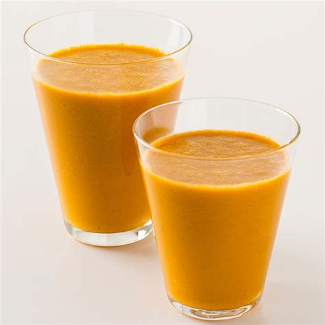 carrot orange smoothie