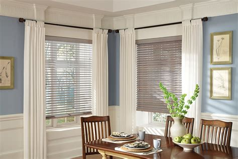 Window Blinds And Curtains by Plantation Shutters Wood Blinds Drapes Curtains Woven