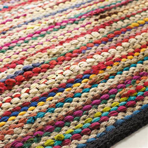 rideaux chambre bebe fille tapis tressé en coton multicolore 140 x 200 cm roulotte