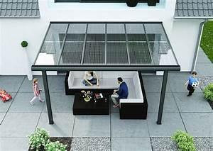 Moderne Carports Mit Glasdach : easy terrassendach ihr neues terrassendach aus aluminium mit 10mm verbundsicherheitsglas ~ Markanthonyermac.com Haus und Dekorationen