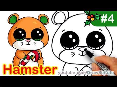 draw beanie boo hamster mouse cute step  step