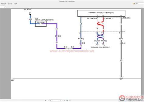 mazda 3 2015 2 4l wiring diagram auto repair manual forum heavy equipment forums