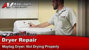 Dryer Repair  U0026 Diagnostic - Not Drying
