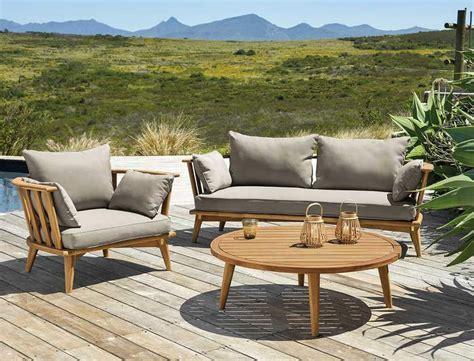 mobilier de jardin maisons du monde toutes les nouveautes femme actuelle
