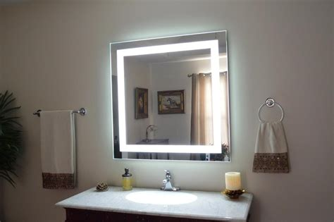 Bathroom Wall Lights For Mirrors by Lighted Vanity Wall Mirrors Mirror Ideas