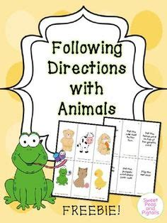 directions activities images preschool