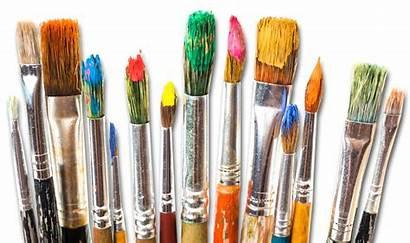 Brushes Brush Paint Painting Paintbrush Canvas Oil