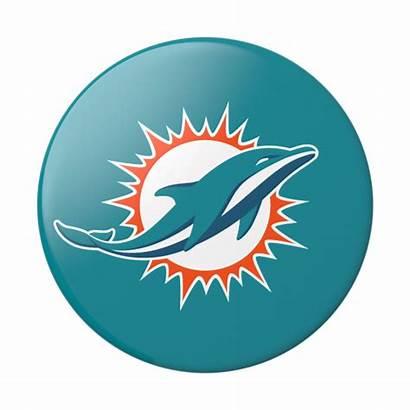 Dolphins Miami Popsockets Nfl Popgrip Dolphin Transparent