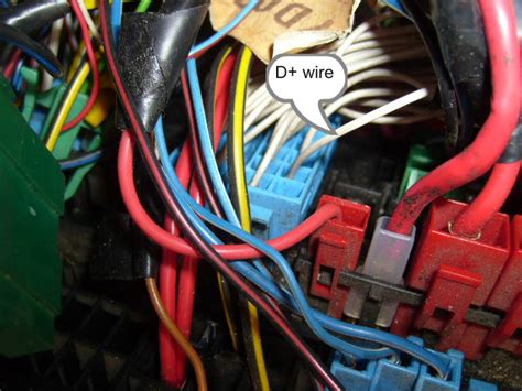 split charge relay d wire vw t4 vw t5