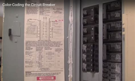 video organizing tips tricks color code your circuit breaker