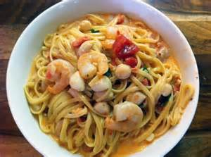 Pasta with Shrimp and Scallop Recipes