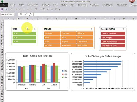 learn  power  excel pivot tables  microsoft