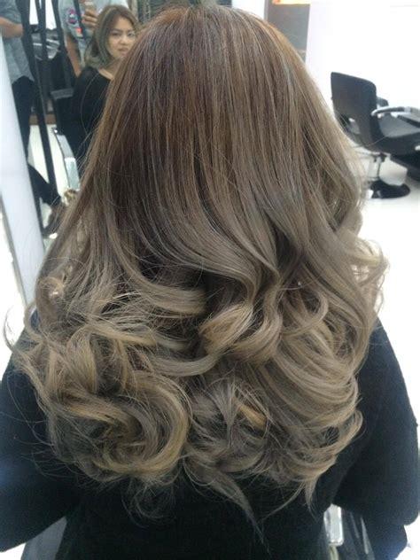ash gray hair color balayage hair color at dot zero salon chet learns new today