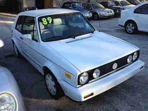 Buy Used Triple White 1989 Vw Cabriolet In Jacksonville  Florida  United States