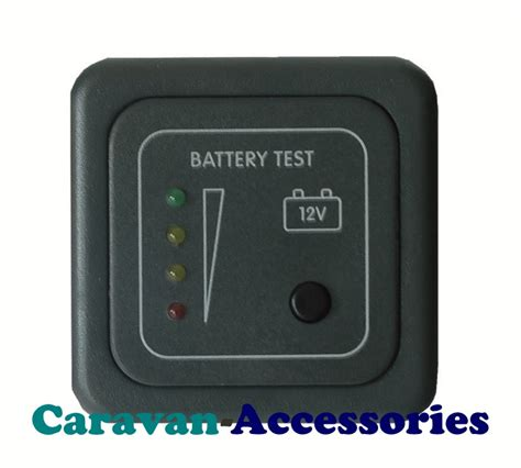 Boat Battery Level Indicator by Battery Voltage Level Test Panel Indicator Cbe Caravan