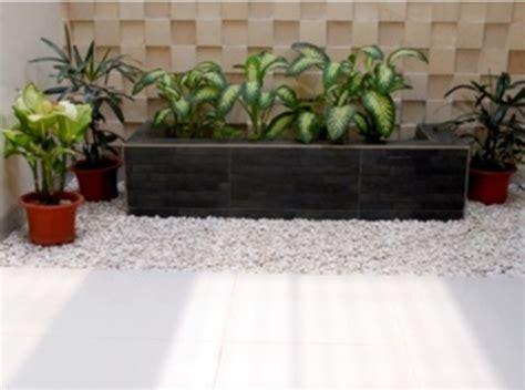 contoh desain taman rumah minimalis terbaik desain