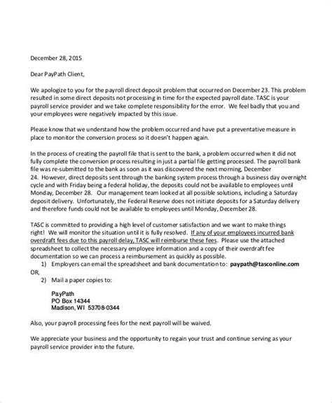 apology letter templates   ms word pages