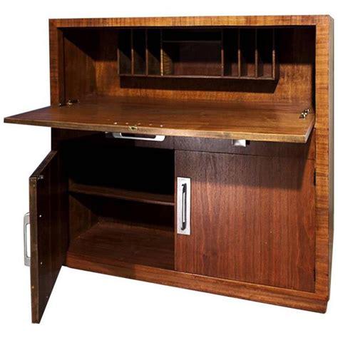 drop down secretary desk modern age art deco drop down desk or secretary circa