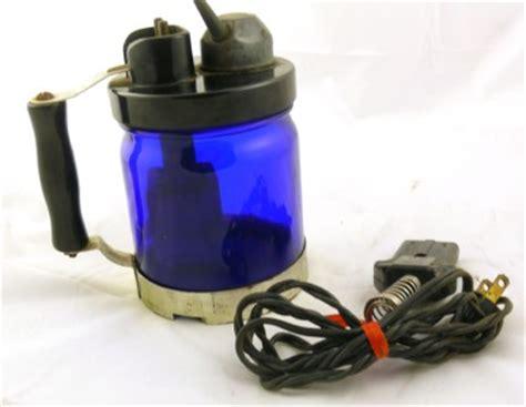 antique glass ls electric vintage antique cobalt blue glass old electric vaporizer w