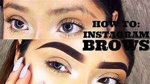 How To Instagram Brows