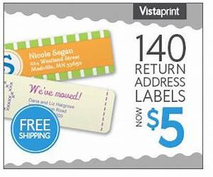 140 customized return address labels only 5 shipped With discount return address labels