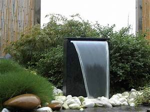 Fontaine A Eau Exterieur : fontaine de jardin vicenza chute d 39 eau led jardideco ~ Carolinahurricanesstore.com Idées de Décoration