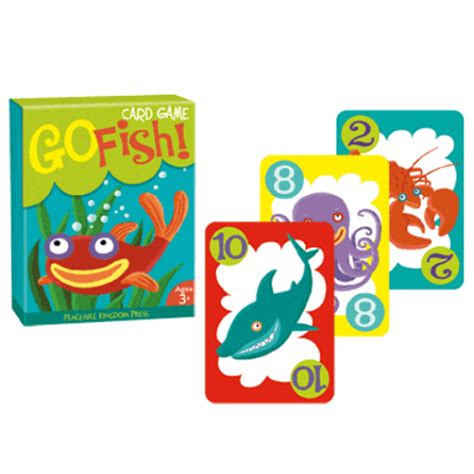 go fish go fish card game smart kids toys