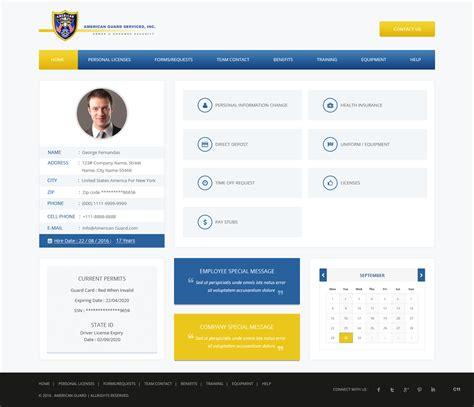 professional modern  company web design   company