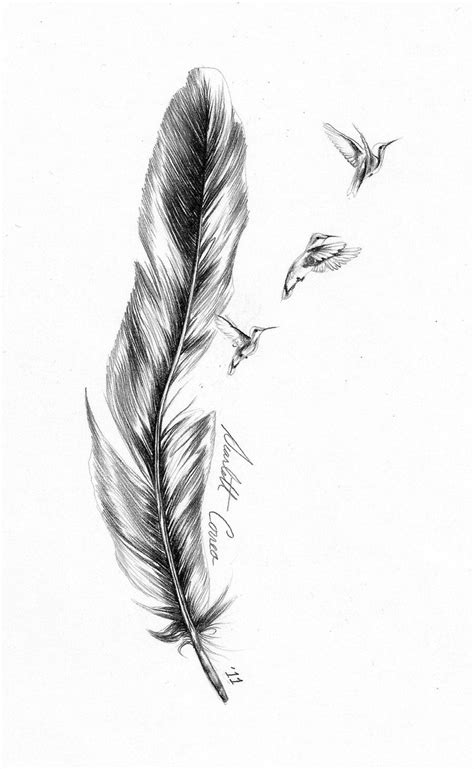 Feather Tattoo Images & Designs