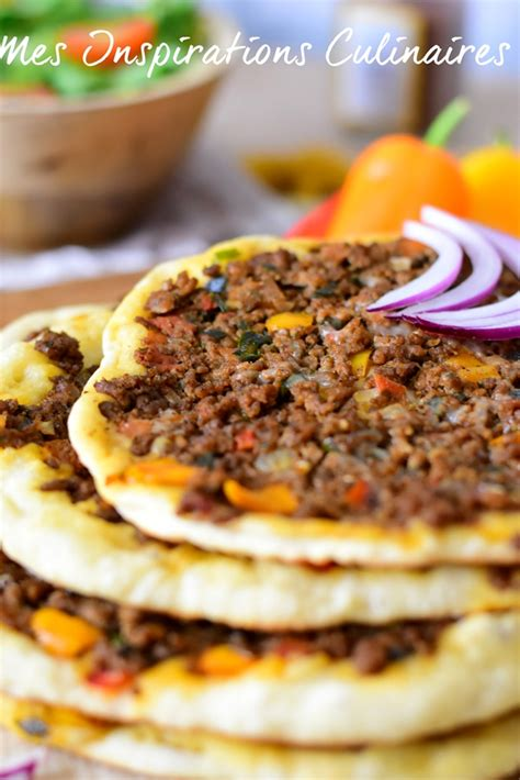 la cuisine de meriem lahmacun pizza turque le cuisine de samar