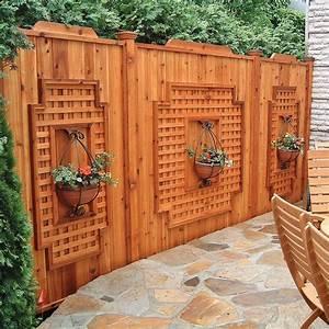 cedre treillis et cie jardin inspirations jardinage With superior deco mur exterieur maison 0 decoration jardin treillis
