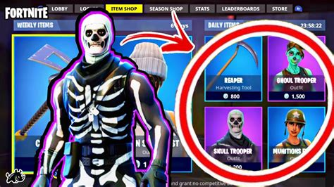 Reacting To Skull & Ghoul Trooper On The Items