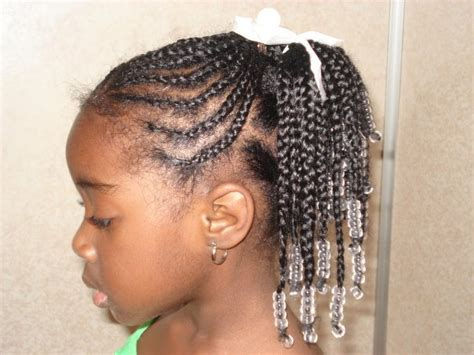 7 braided hairstyles for little black girls : Woman