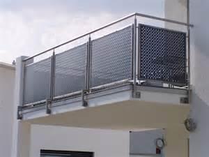 edelstahl balkone balkone aus edelstahl und glas carprola for