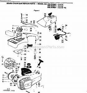 Craftsman 358353671 Parts List And Diagram