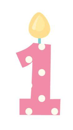 happystbirthdayclipart happy  birthday candle