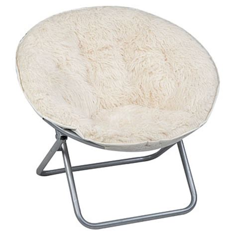 folding saucer chair shag saucer chair