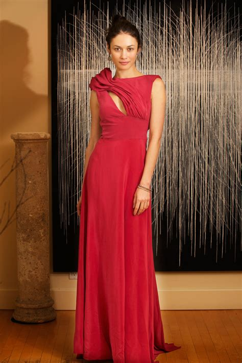 Oscars Fashion 2014 Olga Kurylenko In A Sustainably
