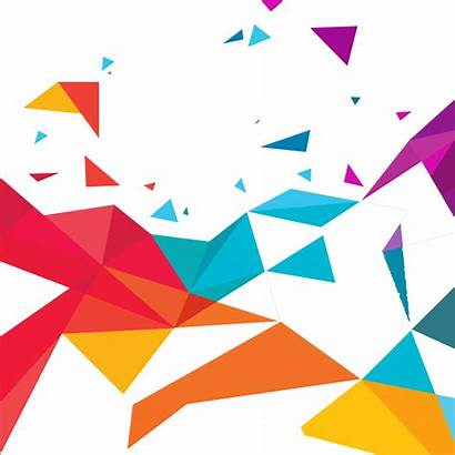 Abstract Transparent Vector Triangles Clipart Triangle Border