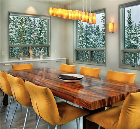 Wooden Furniture In A Contemporary Setting by 10 Wooden Dining Tables That Make You Want A Makeover